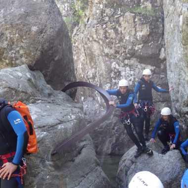 Photos Canyoning Corse du sud 2018 - Canyon Ziocu