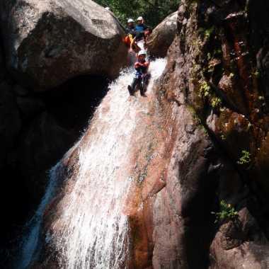 Photos Canyoning Corse du sud 2018 - Pulischellu