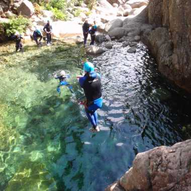 Canyoning Corse du sud 2018 - Pulischellu 20 photos