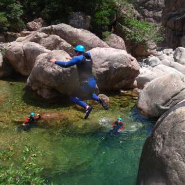 Photos Canyoning Corse du sud 2018 - Vacca