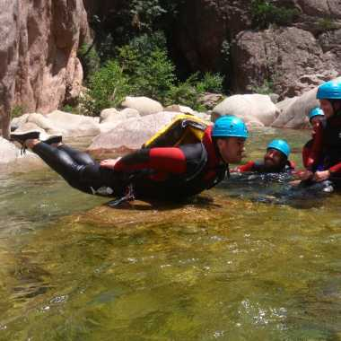 Canyoning Corse du sud 2018 - Vacca 39 photos