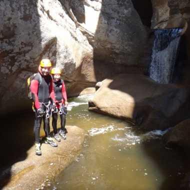 Canyoning Corse du sud 2019 - Piscia di Gallu 18 photos
