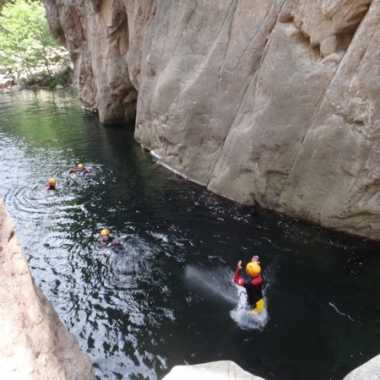 Photos Canyoning Corse du sud 2019 - Vacca