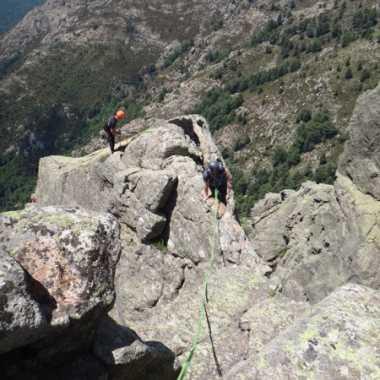 Photos Escalade Corse du sud Bavella - Arete de Quenza