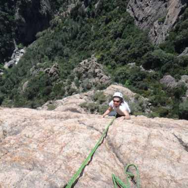 Photos Escalade Corse du sud Bavella - Perillat