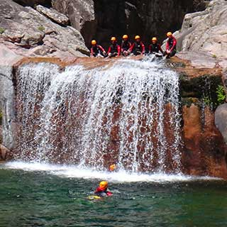 Canyoning a vacca